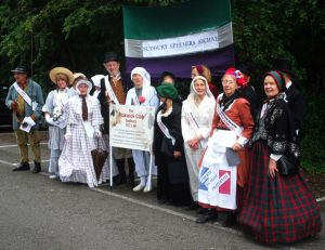 The Pickwick Club Revived for Sudbury Carnival 2015