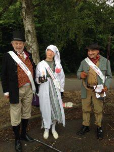 Mr Pickwick, Ebenezer Scrooge, Barkis